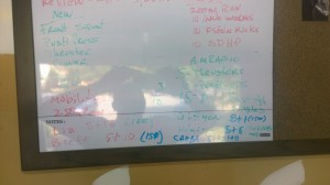 Sunday WOD Board