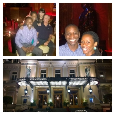 The Famous Monte Carlo Casino + Dinner with friends at the Buddha Bar