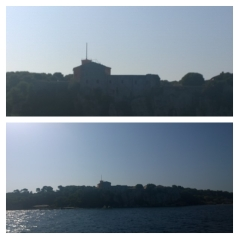 Sainte-Marguerite Island and Prison that held the 'Man in the Iron Mask'