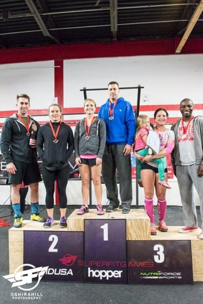 SuperFit DC 3rd Place Heather & Cahba